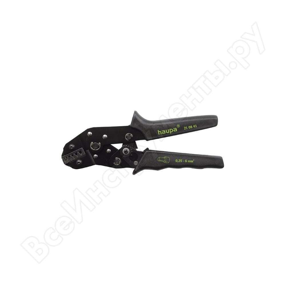 Обжимной инструмент для концевых гильз 0.25-6мм2 haupa 210841