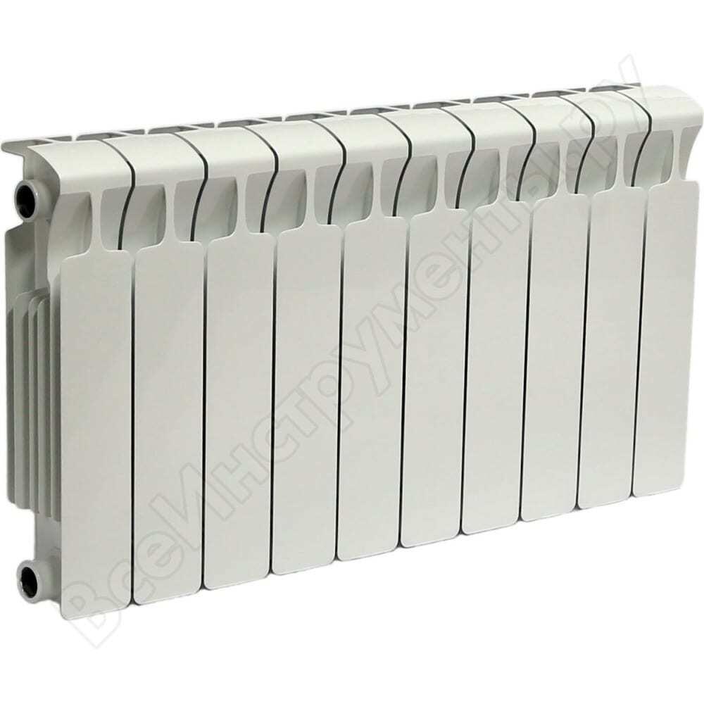 Радиатор rifar monolit 350 х10 сек нп лев mvl 50мм rm35010нл50