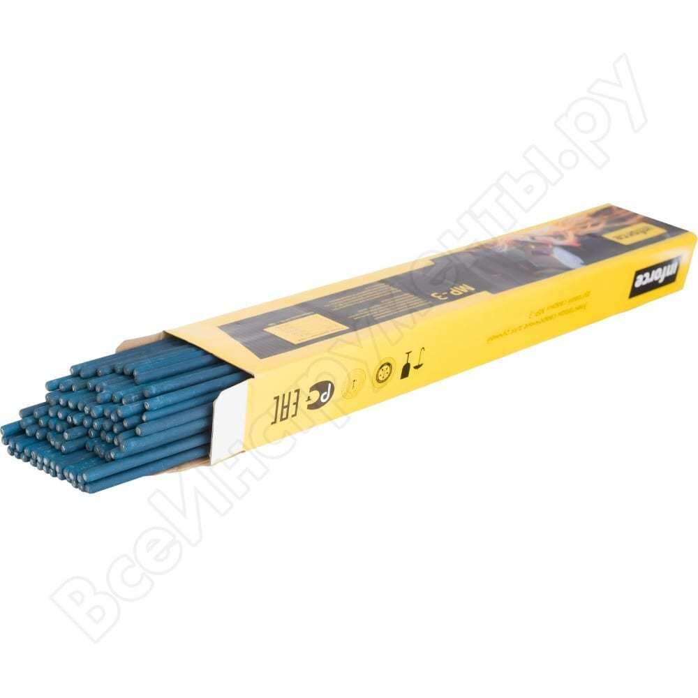 Электрод мр-3 (3 мм; 3 кг; синие) inforce 11-05-17