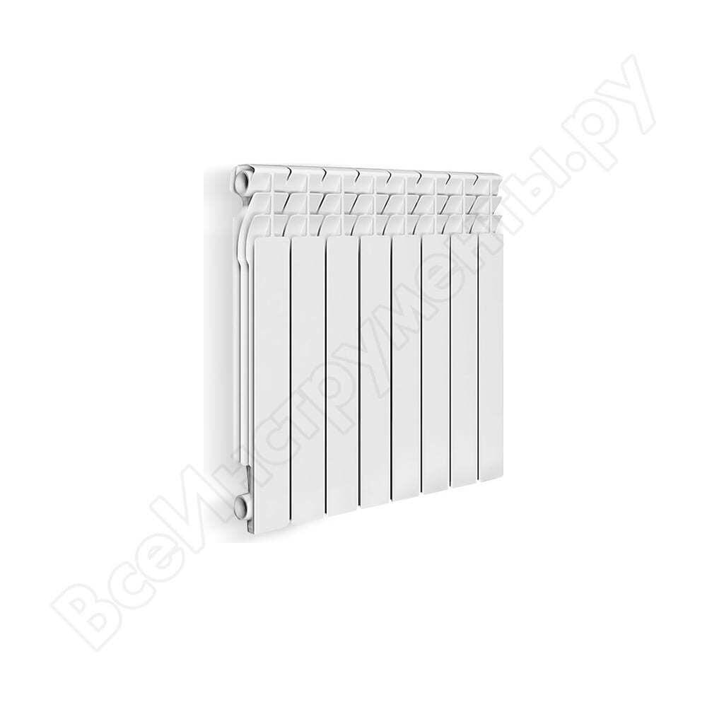 Алюминиевый радиатор oasis 500/70/6 4670004376256