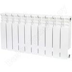 Биметаллический радиатор stout space 350 12 секций боковое подключение srb-0310-035012