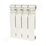 Биметаллический радиатор rommer profi bm 350 bi350-80-80-130 4 секции ral9016 86629