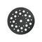 Тарелка опорная для sxe3125 (125 мм) metabo 624739000