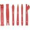 Набор лопаток для демонтажа заклепок и различных элементов с внутренней обшивки автомобиля 6шт aist 67929106