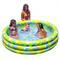 Детский надувной бассейн мозаика intex 56440