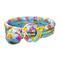 Надувной детский бассейн рыбки, с мячом и кругом intex 59469