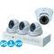 Комплект видеонаблюдения ahd 1mpx для дома и офиса 4+4 ivue ivue-d5004 ahc-d4