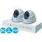Комплект видеонаблюдения ahd 1mpx для дома и офиса 4+2 ivue ivue-d5004 ahc-d2