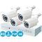 Комплект видеонаблюдения ahd 1 mpx дача 4+4 ivue ivue-d5004 ahc-b4