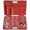 Набор для демонтажа панели приборов и медиа устройств, кейс, 52шт мастак 108-00052c