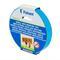 Универсальная лента для монтажа folsen 19ммх5мx1, 1мм белая вспененный ре в индивидуальной упаковке 030810519