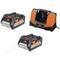 Набор из аккумуляторов и зарядного устройства setll1850bl aeg 4932464019