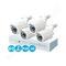Комплект видеонаблюдения для дачи ivue ahd 4+4 2 mpx 1080p ahc-b4