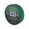 Изолента пвх haupa цвет зеленый, шир.19 мм, длина 20 м, d 74 мм 263856