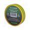 Изолента пвх haupa цвет желто-зеленый, шир.25 мм, длина 20 м, d 74 мм 263880