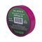 Изолента пвх haupa цвет фиолетовый, шир.25 мм, длина 20 м, d 74 мм 263874