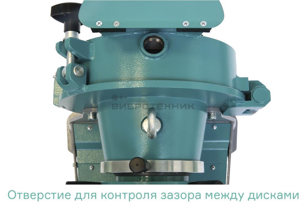 Истиратель дисковый ИД 175М  лабораторный  производства ООО «ВИБРОТЕХНИК»