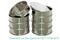 Комплект лабораторных сит для грунта по ГОСТ 12536-2014 производства ООО «ВИБРОТЕХНИК»