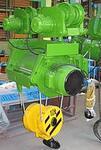 Электротельфер ВБИ, марка ВТ39646, г/п 10 т., h 6 м., производство ЕООД «Балканско Ехо»