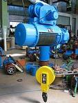 Электротельфер ОПИ, марка Т10612, г/п 5 т., h 6 м., производство ЕООД «Балканско Ехо»