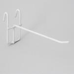 Крючок на решетку 150 мм белый 210002